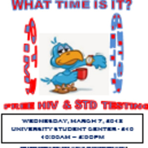 What Time Is It? Time to get tested!