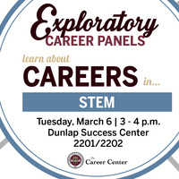Exploratory Career Panel in STEM