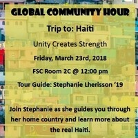 Global Community Hour: Trip to Haiti