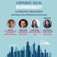 Corporate Social Responsibility & Employee Engagement: Organizational Culture, Identification and Communication