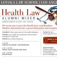Health Law Alumni & Student Mixer