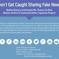 Don't Get Caught Sharing Fake News