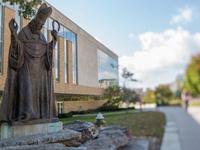 St. Pat's Statue Dedication