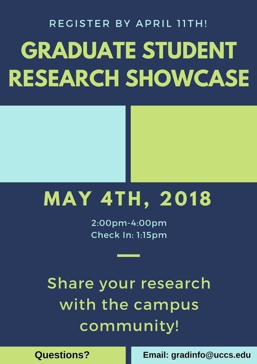 Graduate Student Research Showcase