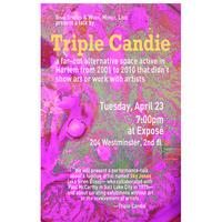 Triple Candie Performance/Talk at Exposé