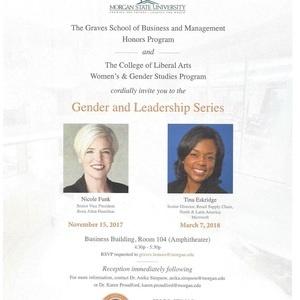 Gender and Leadership Series - Tina Eskridge, Sr. Director, Retail Supply Chain - Microsoft