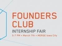 Founder's Club Internship Fair