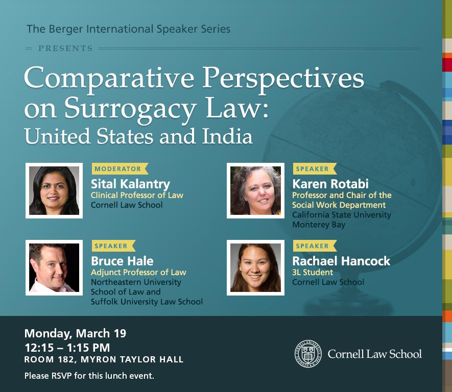 Berger International Speaker Series Lunch Talk