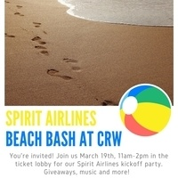 Spirit Airlines Beach Bash at CRW