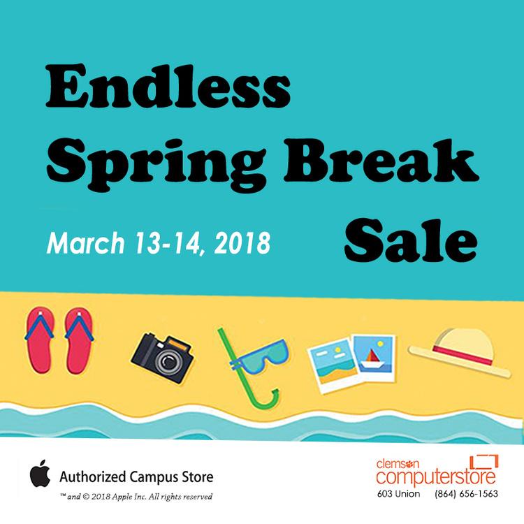 Endless Spring Break Sale