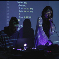 Livecoding Sinusoidal Traversals through Sound Sorted in Space