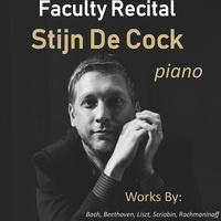 Faculty Recital – Stijn De Cock, piano