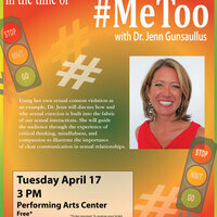 Beyond the Hashtags: Talking About Consent in the Time of #Me Too with Dr. Jenn Gunsaullus
