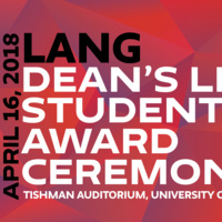 Dean's Honor Symposium + Dean's List and Student Award Ceremony