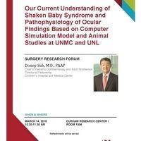 Surgery Research Forum, Donny Suh, M.D.