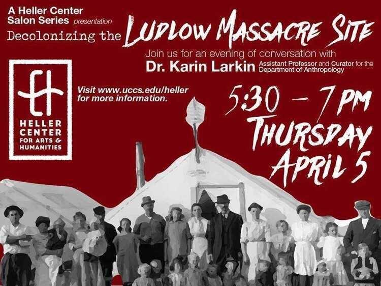Heller Center Salon: Decolonizing the Ludlow Massacre Site