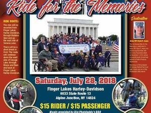 Ride For The Memories (3rd Annual)