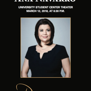 Presidential Distinguished Speaker Series with Ana Navarro