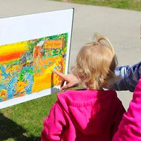"Kearney Library ""Storybook Walk"""