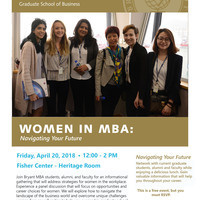 4th Annual Women in MBA Luncheon