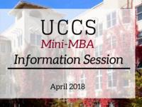 UCCS Mini-MBA Info Session