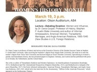 Women's History Month Lecture