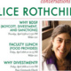 Conversations with Alice Rothchild: Why BDS? (Boycott, Divestment and Sanctions)