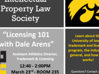 IPLS Meeting: Licensing 101 with Dale Arens