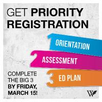 3SP Priority Registration Deadline