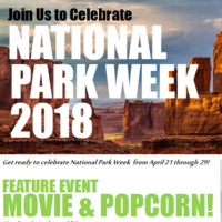 National Park Week Celebration - Movie & Popcorn