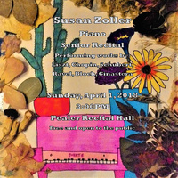 Susan Zoller, piano - Senior Recital