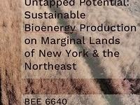 Hydrology of Marginal Lands