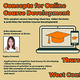 Lunch & Learn: Concepts for Online Course Development