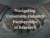 Webinar Series: Navigating University-Industry Partnerships