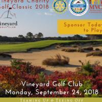 2018 Vineyard Charity Golf Classic
