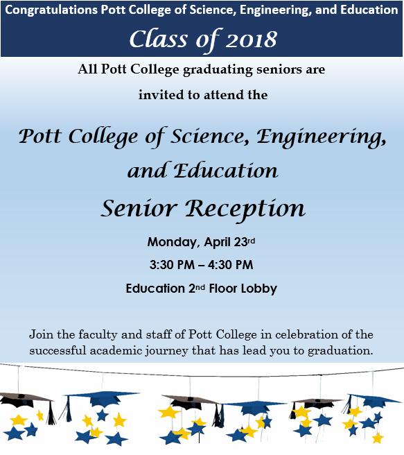 Pott College Senior Reception At Education Center