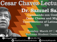 Event image for Cesar Chavez Lecture