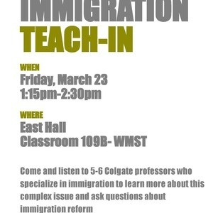 Immigration Teach-In