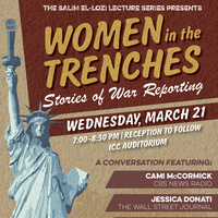 Women in the Trenches: Stories of War Reporting