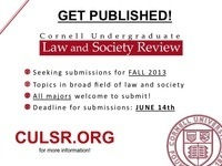 Cornell Undergraduate Law and Society Review