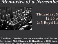 Memories ofa Nuremberg Judge