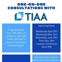 TIAA One-on-One Consultations