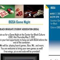BGSA Game Night