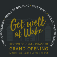 Grand Opening - Reynolds Gym Phase III