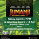 Free Movie Friday & Saturday Featuring Jumanji: Welcome to the Jungle