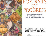 Bring a Child to Work Day @ Mann:  Portraits of Progress--Improving Nutrition and Health in India