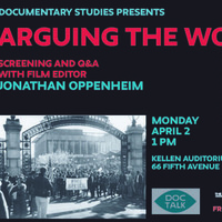 Doc Talk: Screening and Q&A with Film Editor JONATHAN OPPENHEIM