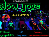 Glow Yoga - Earth Day 2018