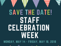 2018 Staff Celebration Week