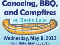 Canoeing, BBQ, and Campfires on Beebe Lake